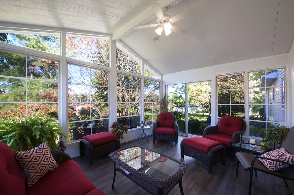 sunrooms open view homes